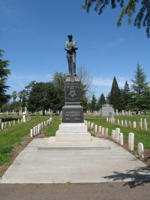 Chico Cemetery G.A.R. Monument image. Click for full size.