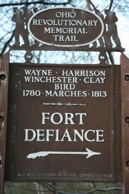 Fort Defiance Marker image. Click for full size.