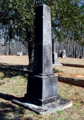 Rev. Henry Bass Tombstone image. Click for full size.