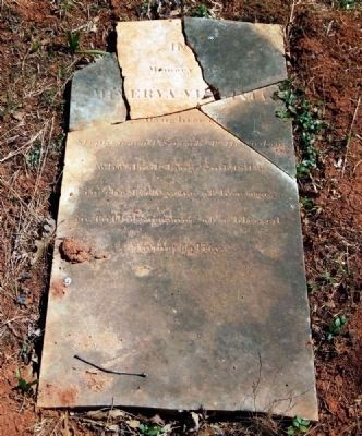 Minerva Virginia Herndon (1797-1813)<br>Tombstone image. Click for full size.