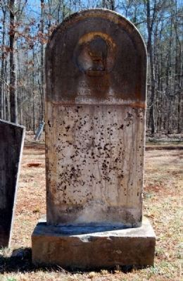 Stephen Herndon Tombstone image. Click for full size.