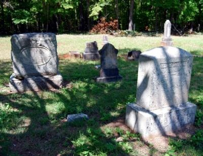 Tabernacle Cemetery -<br>Conner Family Plot image. Click for full size.