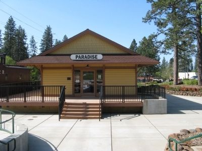 Old Paradise Depot and Museum image. Click for full size.