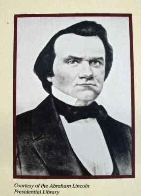 "Right Section Photo - - ""Young Stephen A. Douglas"" image. Click for full size."