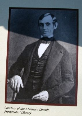 "Right Section Photo - - ""Young Abraham Lincoln"" image. Click for full size."