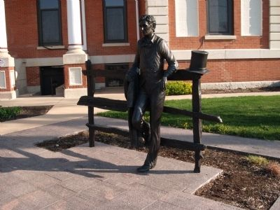"Other View - - ""Abraham Lincoln Statue"" image. Click for full size."