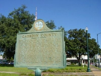 Gadsden County Marker image. Click for full size.