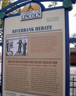 Top Section - - Riverbank Debate Marker image. Click for full size.