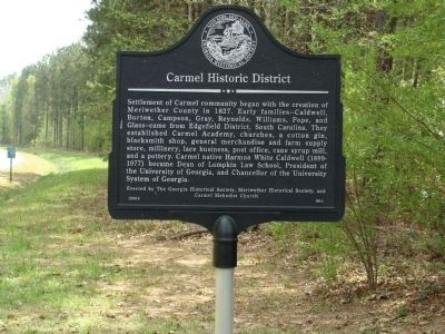 Carmel Historic District Marker image, Click for more information