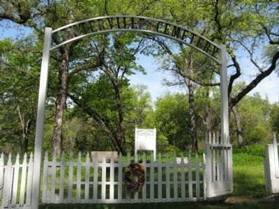 Entrance to the Centerville Cemetery image. Click for full size.