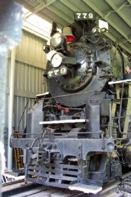 NKP Berkshire Locomotive No. 779 Nose image. Click for full size.