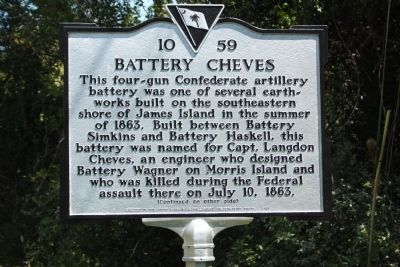 Battery Cheves Marker image. Click for full size.
