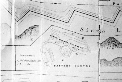 Battery Cheves Map image. Click for full size.