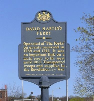 David Martin's Ferry Marker image. Click for full size.