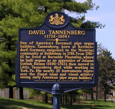 David Tannenberg Marker image. Click for full size.