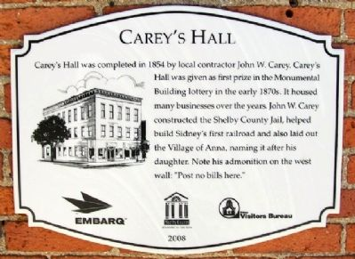 Carey's Hall Marker image. Click for full size.