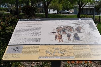Giles County Trail of Tears Memorial Marker image. Click for full size.