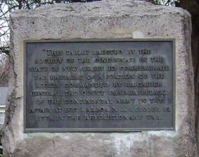 Pulaski Legion Memorial Marker Photo, Click for full size
