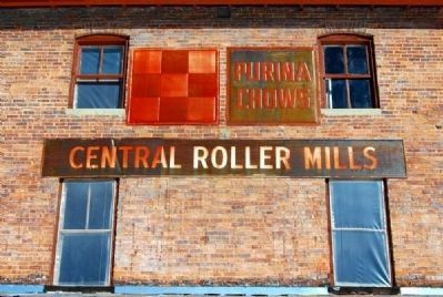 Central Roller Mills Signage image. Click for full size.