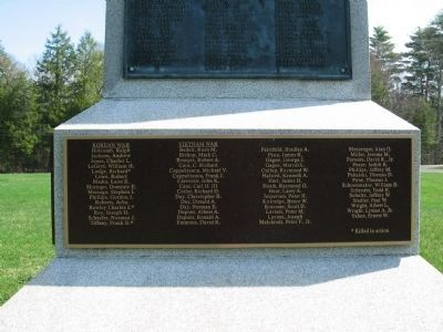 Barkhamsted Soldiers Memorial Photo, Click for full size