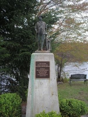 Concord Minute Man Marker Photo, Click for full size