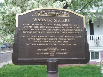 Warner Sisters Marker Photo, Click for full size