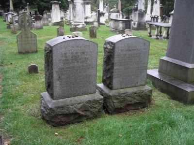 Graves of the Warner Sisters Photo, Click for full size