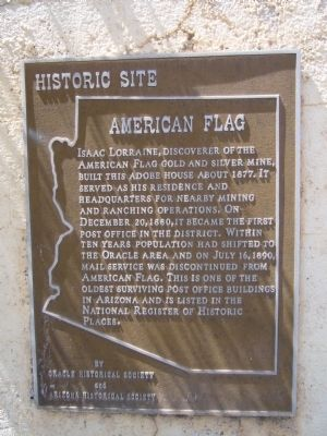 American Flag Marker image. Click for full size.