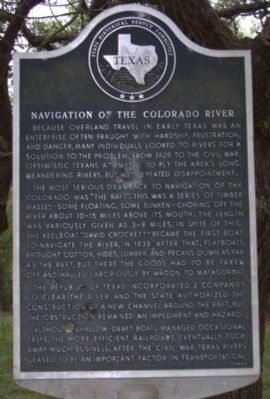 Navigation of the Colorado River Marker image. Click for full size.