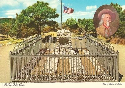 Buffalo Bill Grave image. Click for full size.