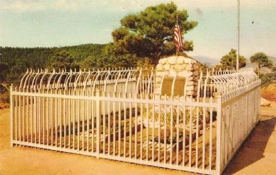 Buffalo Bill Grave Site Photo, Click for full size