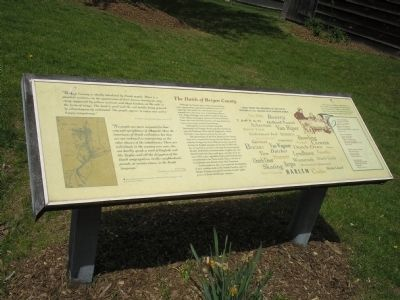 The Dutch of Bergen County Marker image. Click for full size.