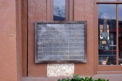 Tallulah Falls Railway Depot Photo, Click for full size