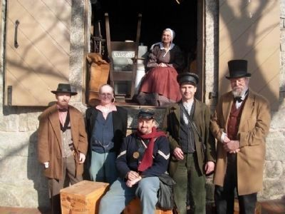 B&O Railroad Station Museum Living Historians Photo, Click for full size