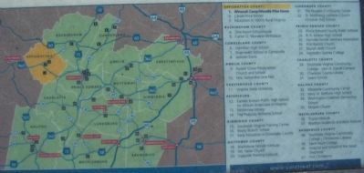 Close Up of the Heritage Trail Sites Map image. Click for full size.