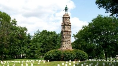 Butler County Civil War Memorial image. Click for full size.