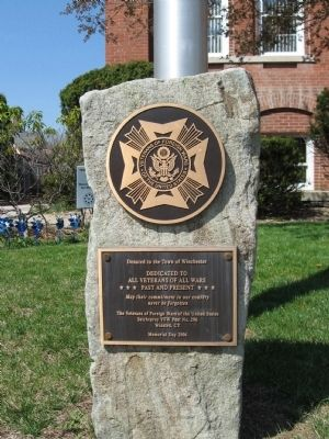Winchester VFW Monument image. Click for full size.