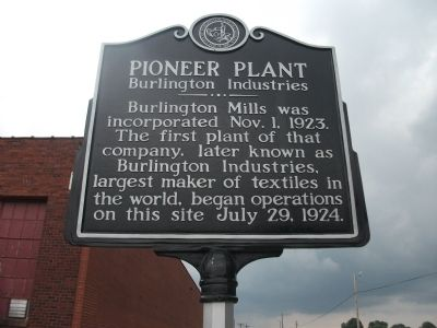 Pioneer Plant Marker image. Click for full size.