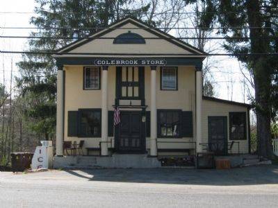 The Colebrook Store - 1812 image. Click for full size.