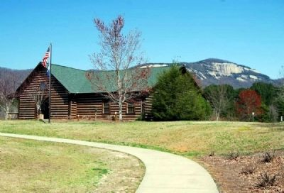 Oolenoy and Table Rock State Parks Visitors Center image. Click for full size.