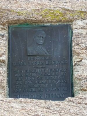 Honorable Frank Harris Hitchcock Marker image. Click for full size.