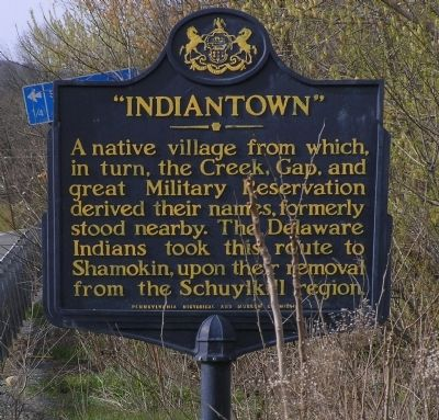 Indiantown Marker image. Click for full size.
