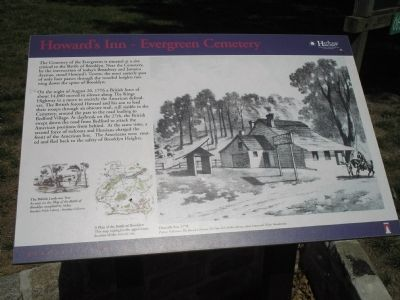 Howard�s Inn – Evergreen Cemetery Marker Photo, Click for full size