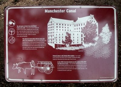 Manchester Canal Marker image. Click for full size.