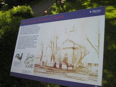 New Utrecht Reformed Church Marker image. Click for full size.