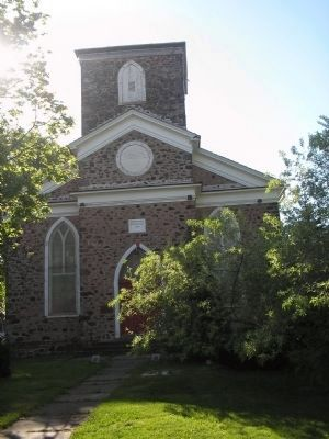 New Utrecht Reformed Church image. Click for full size.
