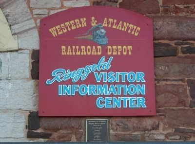 The Depot is now the Visitor Information Center image. Click for full size.