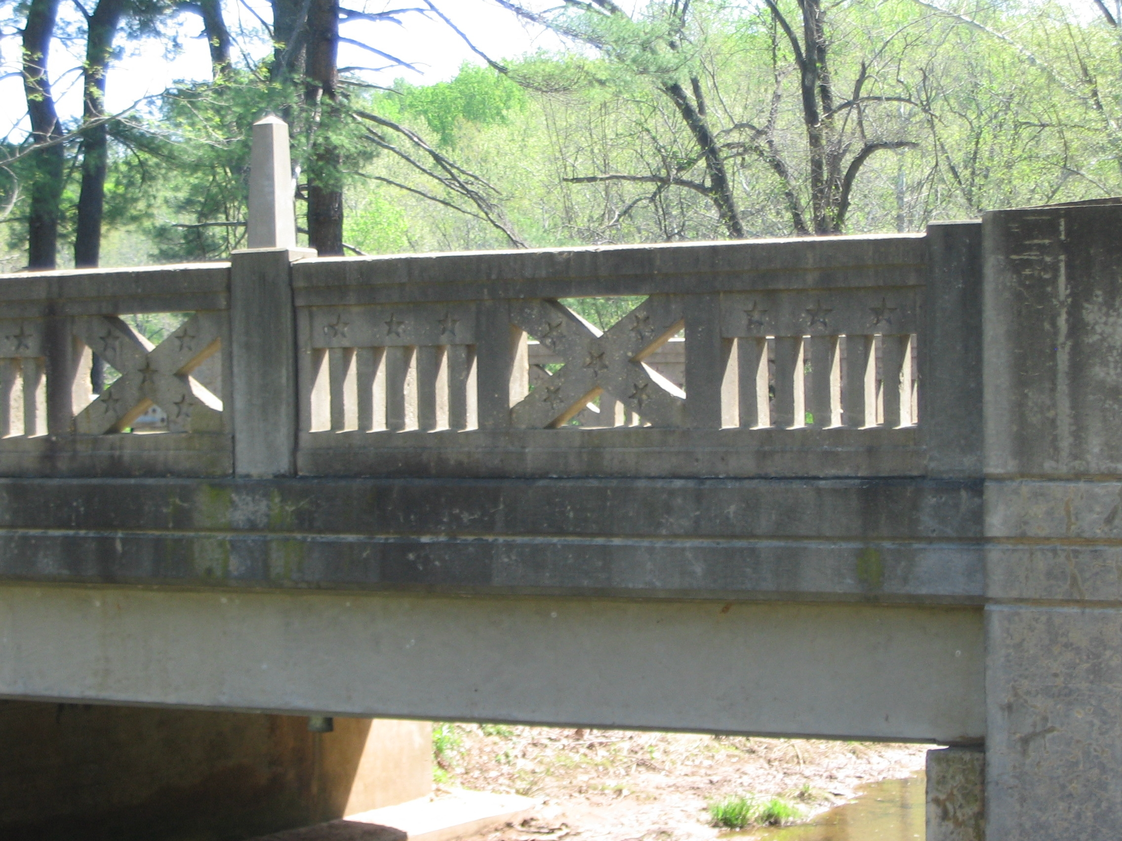 Detail of Bridge Railing