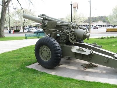VFW 155mm Howitzer image. Click for full size.