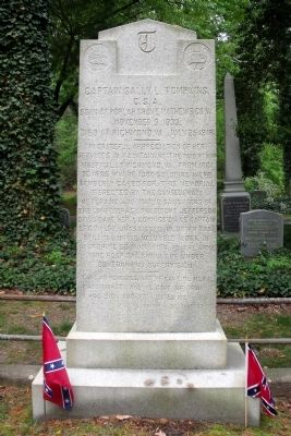 Captain Sally L. Tompkins, C.S.A. Monument image. Click for full size.